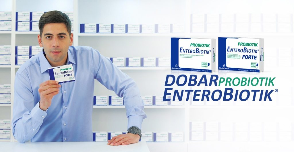 Dobar probiotik ENTEROBIOTIK tablet